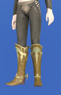Model-Dragonskin Boots of Healing-Male-Elezen.png