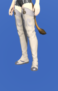 Model-Valerian Rune Fencer's Thighboots-Female-Miqote.png