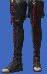 Model-Ghost Barque Open-toed Boots of Scouting-Female-Viera.png