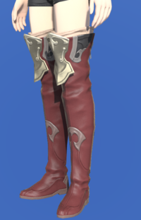 Model-Saurian Boots of Striking-Female-Hyur.png