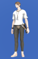 Model-Linen Survival Shirt-Male-Elezen.png