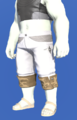 Model-Ramie Trousers of Gathering-Male-Roe.png