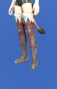 Model-Slothskin Boots of Healing-Female-Miqote.png
