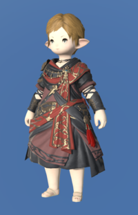 Model-Ala Mhigan Tunic of Scouting-Female-Lalafell.png