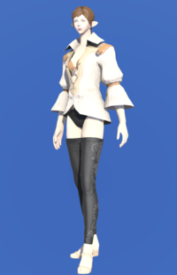 Model-Cotton Shirt-Female-Elezen.png