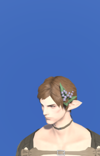 Model-Black Lily of the Valley Corsage-Male-Elezen.png