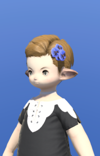 Model-Blue Viola Corsage-Male-Lalafell.png