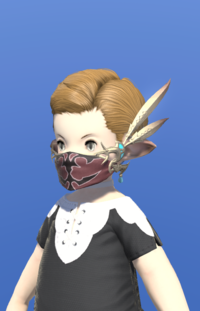 Model-Replica High Allagan Mask of Aiming-Male-Lalafell.png