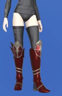 Model-Doman Steel Greaves of Scouting-Female-Elezen.png