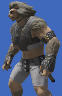 Model-Republican Signifer's Fingerless Gloves-Male-Hrothgar.png