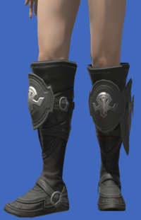 Model-Ishgardian Bowman's Boots-Female-Viera.png