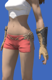 Model-Fingerless Boarskin Gloves of Gathering-Female-Viera.png