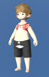 Model-Red Summer Top-Male-Lalafell.png