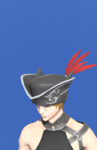 Model-Tricorne of the Daring Duelist-Male-Miqote.png