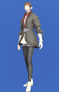 Model-Flame Private's Gown-Female-Elezen.png