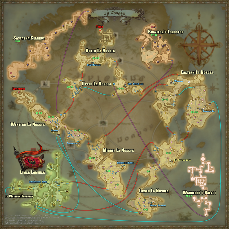 Map gamer escape for Ffxiv fishing guide