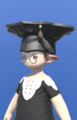 Model-Augmented Scholar's Mortarboard-Male-Lalafell.png