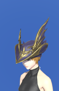 Model-Replica Dreadwyrm Chapeau of Aiming-Female-Miqote.png