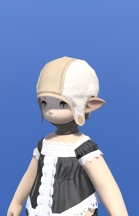 Model-Cotton Coif of Gathering-Female-Lalafell.png