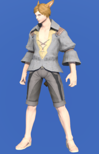Model-Flame Private's Shirt-Male-Miqote.png