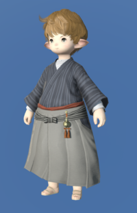 Model-Far Eastern Schoolboy's Hakama-Male-Lalafell.png