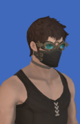 Model-Replica Sky Pirate's Mask of Striking-Male-Hyur.png