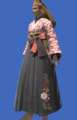 Model-Far Eastern Schoolgirl's Hakama-Female-Viera.png