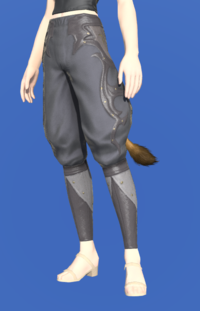 Model-Rainbow Sarouel of Scouting-Female-Miqote.png