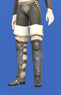 Model-Flame Sergeant's Thighboots-Male-Elezen.png