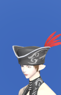 Model-Tricorne of the Daring Duelist-Female-Elezen.png