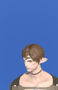 Model-Aetherial Electrum Circlet (Amber)-Male-Elezen.png
