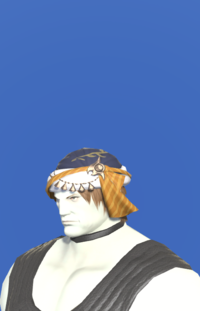 Model-Ala Mhigan Turban of Crafting-Male-Roe.png