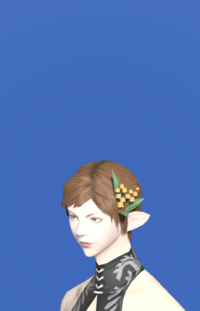 Model-Orange Lily of the Valley Corsage-Female-Elezen.png
