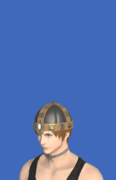 Model-Boarskin Pot Helm-Male-Hyur.png