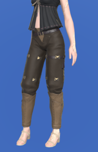 Model-Gyuki Leather Trousers of Fending-Female-AuRa.png