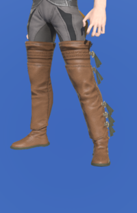 Model-Archaeoskin Jackboots of Gathering-Male-Miqote.png