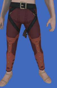 Model-Replica Sky Pirate's Trousers of Striking-Male-Miqote.png