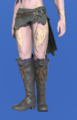Model-Sharlayan Emissary's Boots-Male-AuRa.png