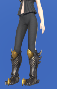 Model-Tarnished Feet of Pressing Darkness-Female-AuRa.png