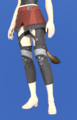 Model-Ala Mhigan Skirt of Casting-Female-Miqote.png