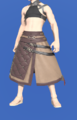Model-Arhat Hakama of Aiming-Male-Miqote.png