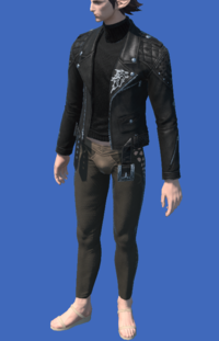 Model-Calfskin Rider's Jacket-Male-Elezen.png