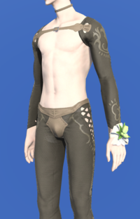 Model-Green Tulip Corsage-Male-Elezen.png