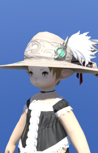 Model-True Linen Hat of Healing-Female-Lalafell.png