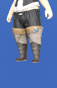Model-Antiquated Gunner's Thighboots-Female-Lalafell.png