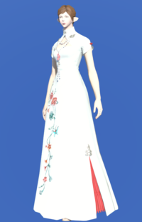 Model-Eastern Socialite's Cheongsam-Female-Elezen.png