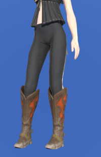 Model-Gyuki Leather Boots of Gathering-Female-AuRa.png