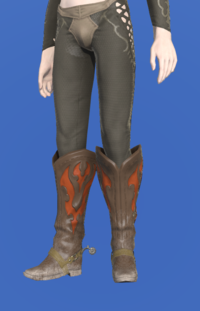 Model-Gyuki Leather Boots of Gathering-Male-Elezen.png