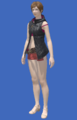 Model-Hooded Fireglass Leather Vest-Female-Hyur.png