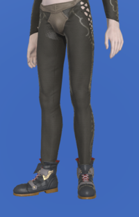 Model-Dinosaur Leather Shoes-Male-Elezen.png